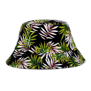 New Style Nice Bucket Hat with Maple Leaf Printing pictures & photos