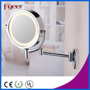 Fyeer Double Side Makeup Mirror Sensor Light LED Cosmetic Mirror pictures & photos