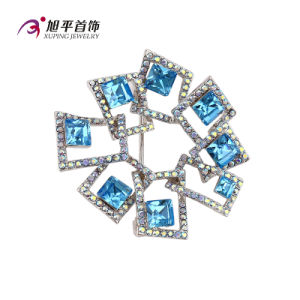 X0421002 - Xuping Fashion Luxury Rhodium CZ Crystals From Swarovski Jewelry Element Brooch pictures & photos
