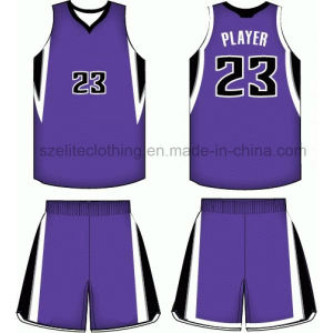 Latest Custom Design Basketball Jersey (ELTLJJ-79) pictures & photos