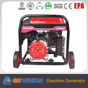 6.5kw Portable Gasoline Generator with CE pictures & photos