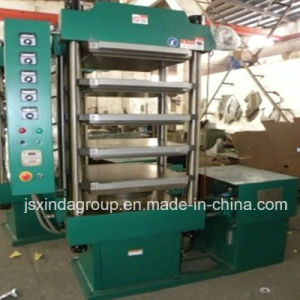 Xlb-500 Vulcanizer Rubber Tile Brick Molding Machine Scrap Tyre Recycling pictures & photos