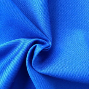Cotton Spandex Twill Dyed Fabric (QF13-0241) pictures & photos