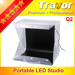 Portable LED Studio Soft Box with CRI Above 95