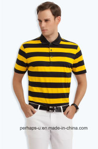 Gentle Mens Stripe Polo Shirt pictures & photos