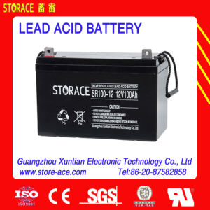 Solar Battery 12V100ah Deep Cycle Battery pictures & photos