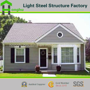 Labor Saving Easy Install Sandwich Panel Villa Living Prefabricated House pictures & photos