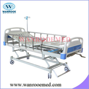 Bam302b Cheap Price Medical Equipment Three Functions Bed with Mattress pictures & photos