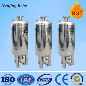 Stainless Steel Vertical/Horizontal Rubber Lining Pressure Water Tank