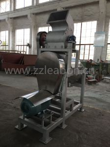 Fruit and Vegetable Crusher Screw Juice Making Machine pictures & photos