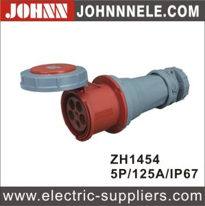 IP44 4p 16A Plug for Industrial pictures & photos