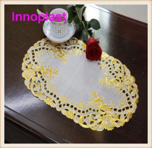 PVC Lace Placemat 30X46cm pictures & photos