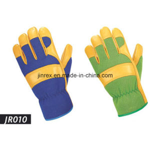 Promotional Leather Mechanics Working Tool Safe Hand Glove pictures & photos