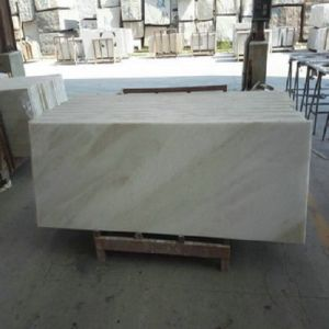 Volakas White Marble Floor Tile Marble Countertop for Kitchen/Bathroom pictures & photos