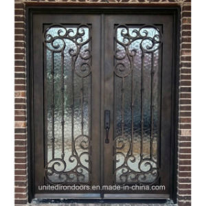 Made in China Square Top Iron Door (UID-D063) pictures & photos