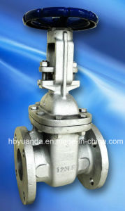 ANSI CLASS 125 flanged end FF/RF Cast iron gate valve pictures & photos