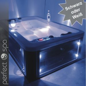 Happy Hot Tub Acrylic Sex Massage SPA LED Light Approved CE (3815-Beata)