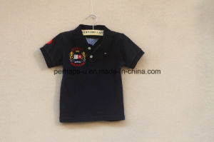 High Quality Embroidered Boys T Shirt Children Wear pictures & photos