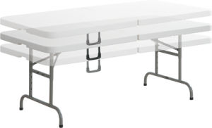 Adjustable Folding in Half Table (YCZ-152ZA) pictures & photos