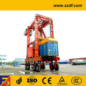 Container Straddle Carrier, Rubber Tyre Lifting Gantry Crane pictures & photos