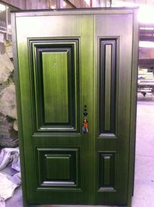 Son-Mother Door in Door Copper Stainless Steel Door pictures & photos