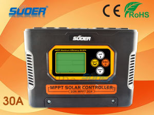 Suoer 12V 24V 48V 30A MPPT Solar Charge Controller (SON-MPPT-30A) pictures & photos