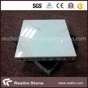 Good Aluminium Composite Panel Price for White Volakas Tile