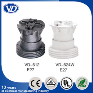 Plastic E27 Lamp Socket Vd624 pictures & photos