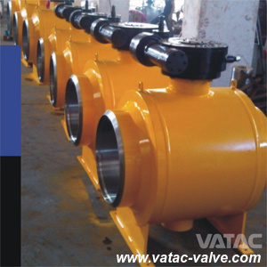Butt Welded Steel Fabricated Wpb Full Welded Ball Valve pictures & photos