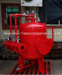Fire Fighting Vertical Foam Bladder Tank