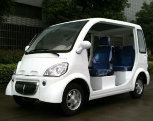 4 Seats Electric Patrol Car Electric Vehicle pictures & photos