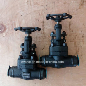 DIN High Pressure Forged Carbon Steel A105 Welding Globe Valve pictures & photos