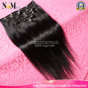 Raw Human Hair Brazilian Fashion Clip in Hair Extensions (QB-CLI-ST) pictures & photos