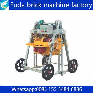 Qt40-3b Moving Machine Press Concrete Brick Block pictures & photos