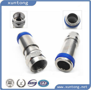 New Arrival F Series RG6 Compression F Connector pictures & photos