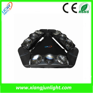 9PCS10W LED Three Head Beam Spider Moving Head Light pictures & photos