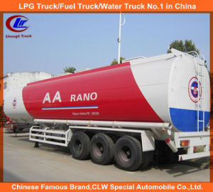 3 Axle Fuel Tank Semi Trailer 42000liters pictures & photos