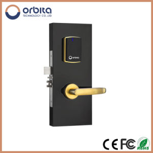 Pure Stainless Steel 304 Digital Onity Key Cards Lock, M1 Card Hotel Lock pictures & photos