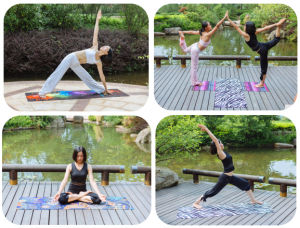 All-Purpose Eco Yoga Mat 2 in 1 Designed pictures & photos