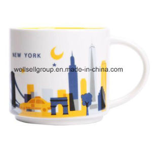 Large Ceramic Coffee Soup Mug with C-Handle (CPBZ-4025) pictures & photos