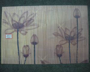 (BC-M1030) Handmade Natural Bamboo Rectangle Heat Insulation Placemat pictures & photos