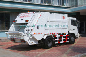 DFAC 4X2 Compressor Garbage Truck 16 Cbm pictures & photos
