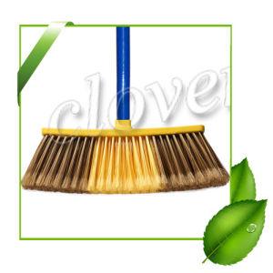 China Sales Well Household Environmental Plastic Cleaning Broom China Plastic Broom Brush