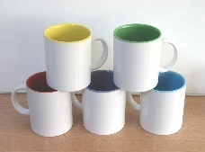 Inner Colored Sublimation Mug Used to Transfer Individual Design pictures & photos