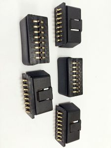 New New OBD II 16p Gold Plated Male Connector pictures & photos
