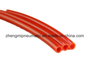 Red TPU Flame Resistant Flexible Hose, PU Tube (Shore 98 A) pictures & photos