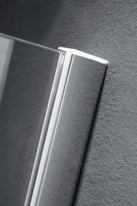 Diamond Shape Shower Enclosure Hinge Opening Shower Cabin Simple Shower Box Sanitaryware pictures & photos