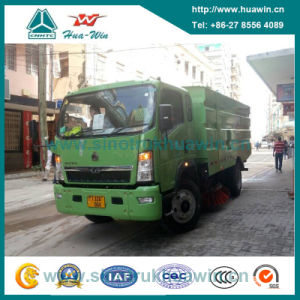 Sinotruk HOWO 4X2 Road Sweep Truck pictures & photos
