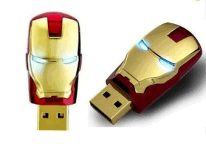 Promotional Good Quality Iron Man 16GB USB Flash Disk pictures & photos