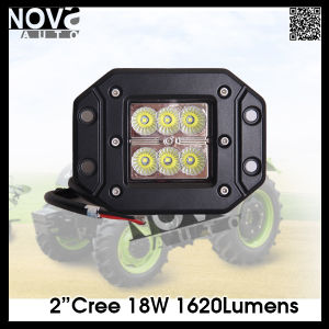 18W CREE LED Headlight of Truck Flush Mounted LED Light